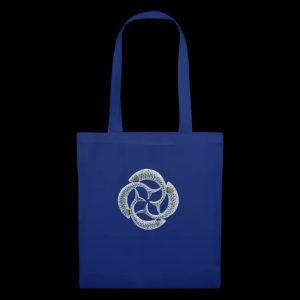 silver fish circle - Tote Bag