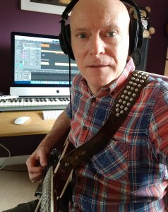 Michael Frazer - recording new songs 2020